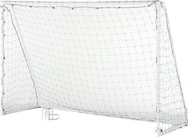 Fitgear voetbaldoel 300x205 cm straat goal verplaatsbaar voetbaldoelen