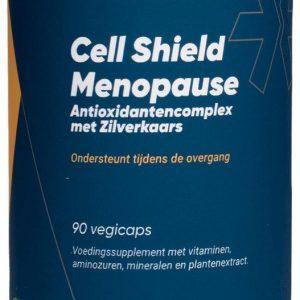 Fittergy Supplements - Cell Shield Menopause - Antioxidantencomplex met Zilverkaars - 90 capsules - Anti-oxidanten - voedingssupplement