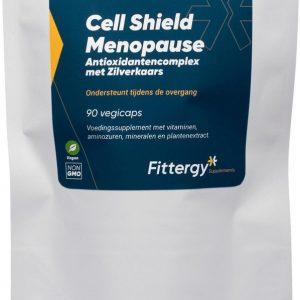 Fittergy Supplements - Cell Shield Menopause - Antioxidantencomplex met Zilverkaars pouche - 90 capsules - Anti-oxidanten - voedingssupplement