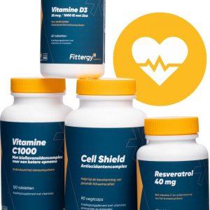 Fittergy Supplements - Weerstandpakket - 1 pakket - Suppletiepakketten - voedingssupplement