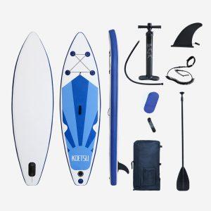 290x76x15 cm Opblaasbare Paddleboard 12-15PSI Stand Up Sup Board Surf Vinnen Wakeboard Surfen Kajak Outdoor zomer Zwemme