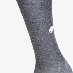 STOX - Daily Merino Socks Vrouwen - Compressiekousen Grijs/wit Maat W1 (schoenmaat 36-38)