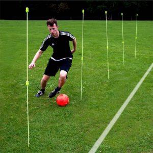 SoccerConcepts Agility stokken - Voetbaltrainer - Set 12x