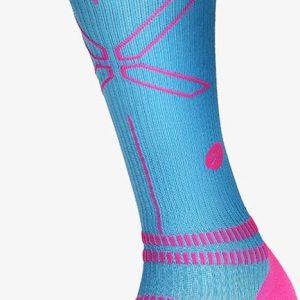 Stox Energy Socks for woman SPORT Turquoise / Fuchsia W2 Maat 38-40